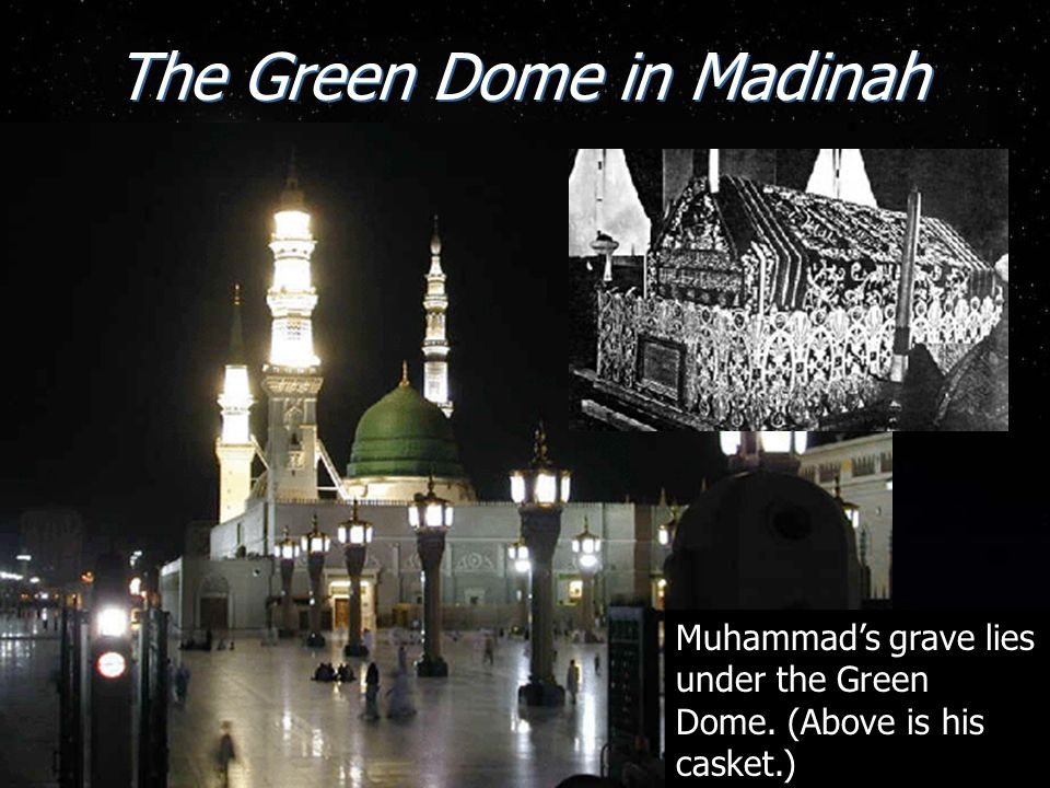 The Green Dome in Madinah