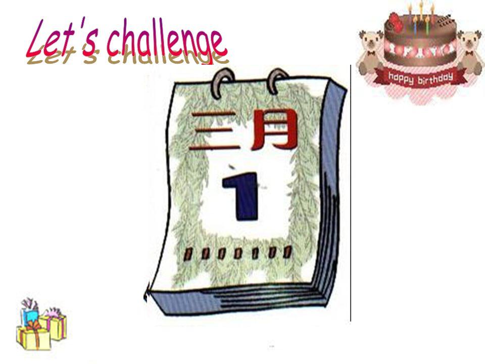Let s challenge
