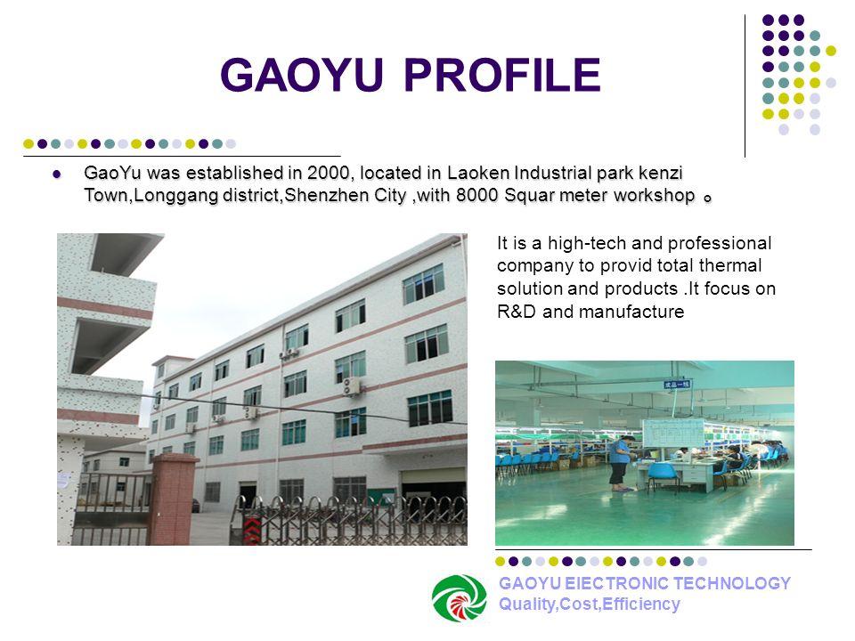 GAOYU PROFILE