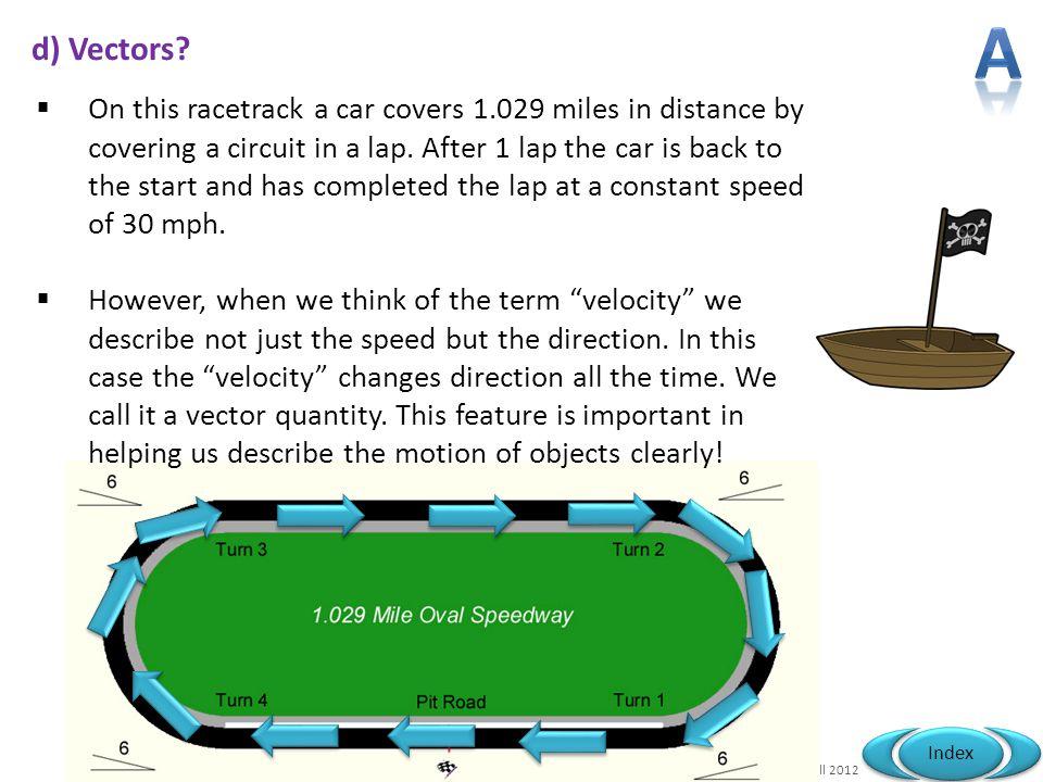A d) Vectors