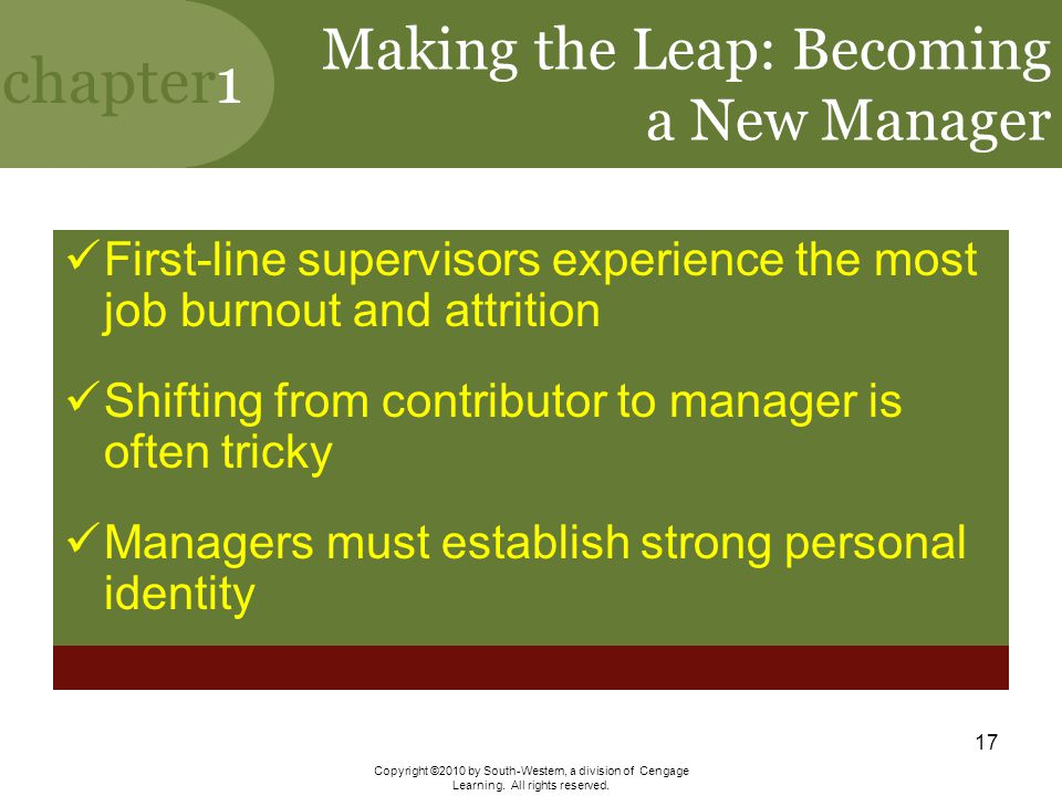 Making the Leap: Becoming a New Manager