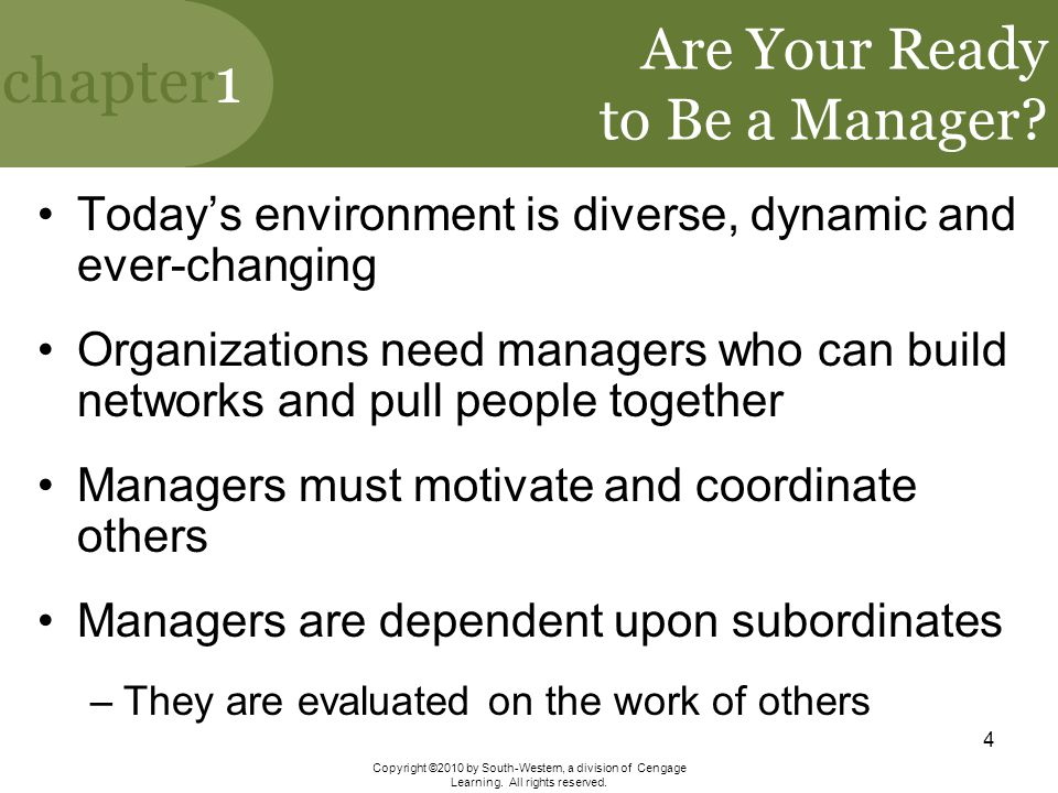 Are Your Ready to Be a Manager