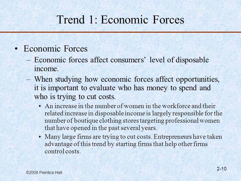 Trend 1: Economic Forces