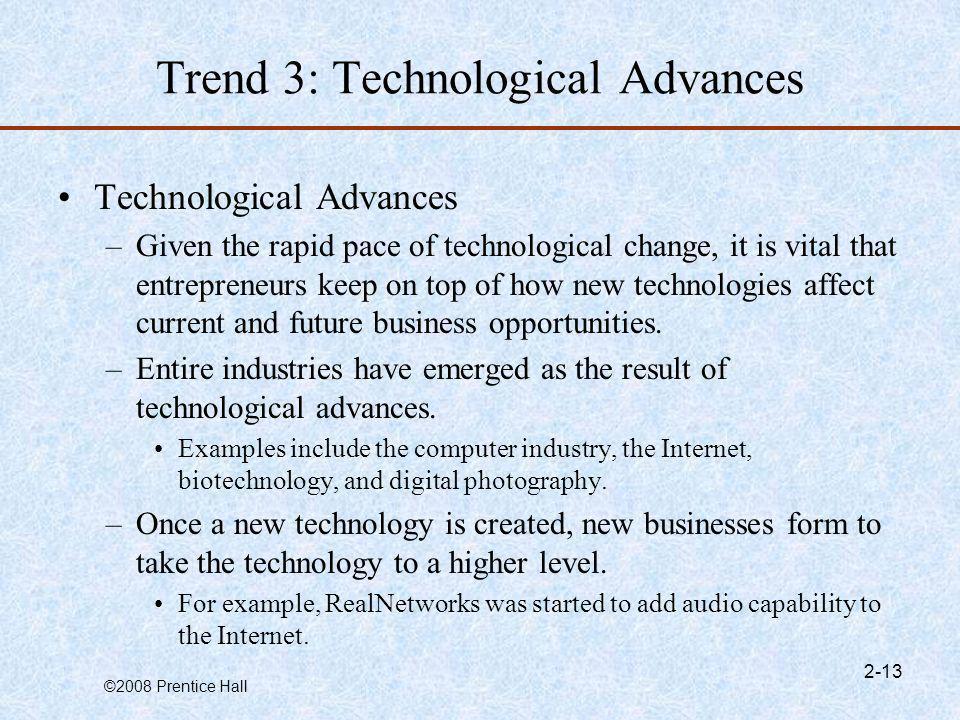 Trend 3: Technological Advances