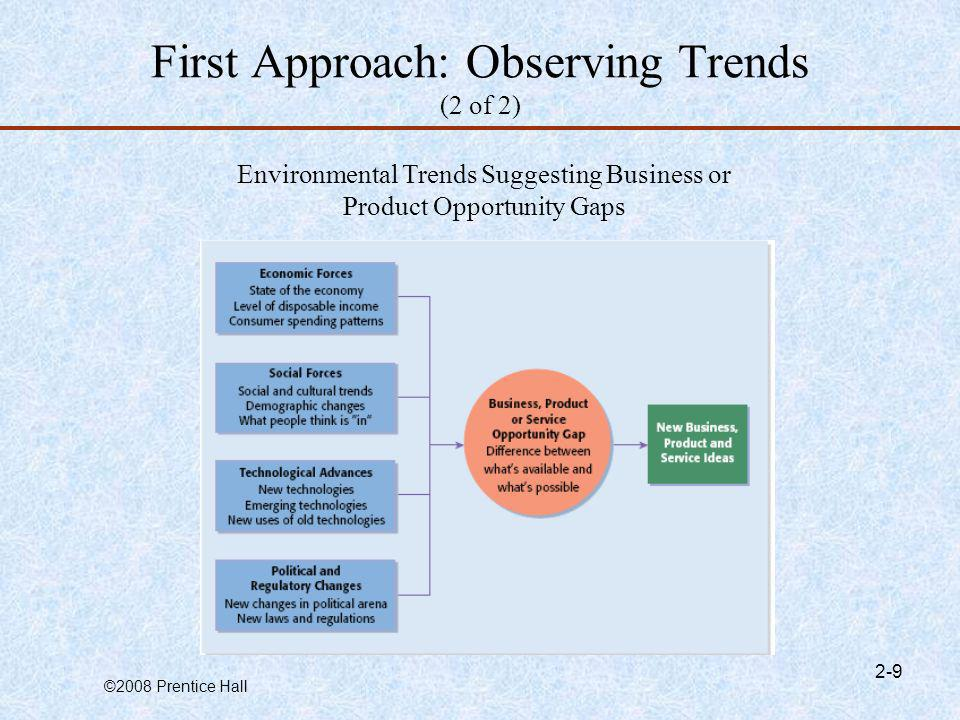 First Approach: Observing Trends (2 of 2)