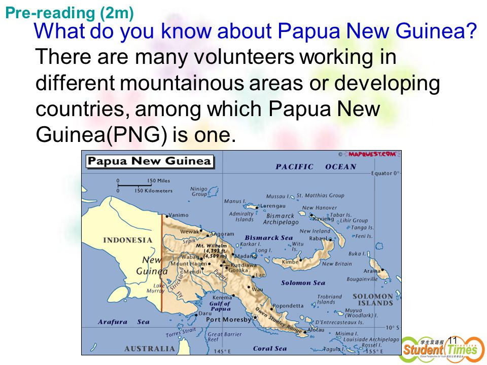 What do you know about Papua New Guinea