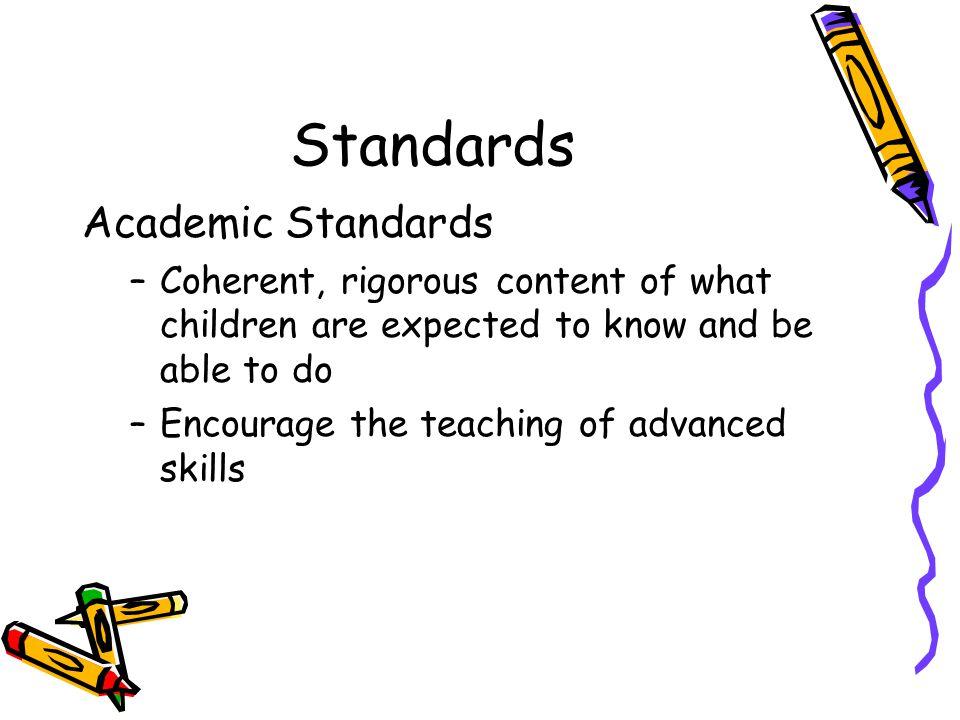 Standards Academic Standards