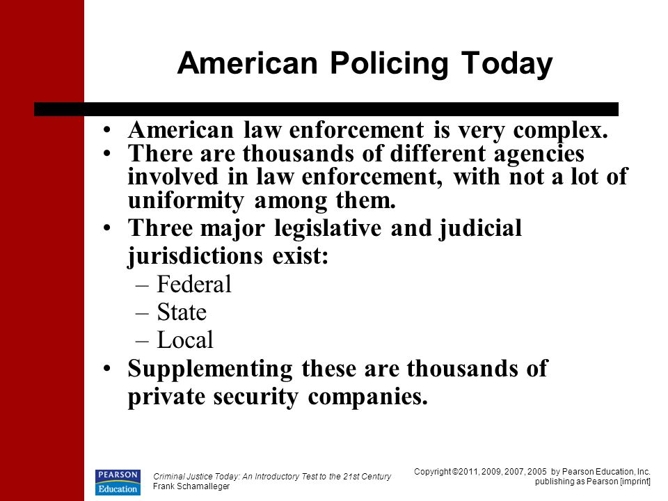 American Policing Today