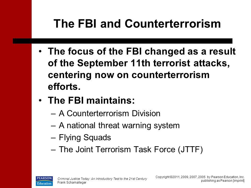 The FBI and Counterterrorism