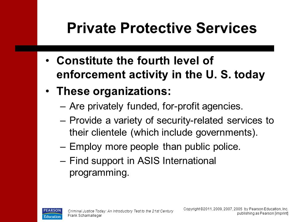 Private Protective Services