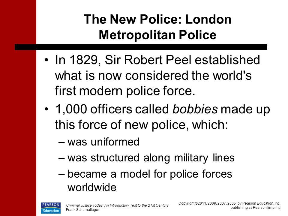 The New Police: London Metropolitan Police