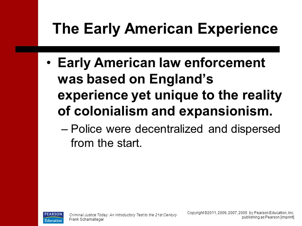 The Early American Experience