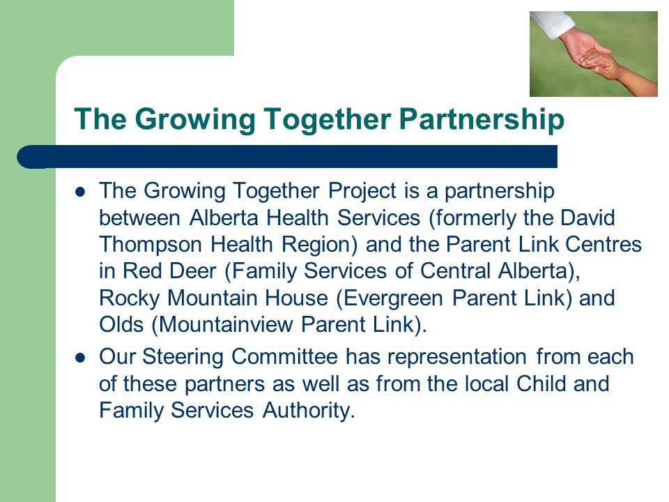 The Growing Together Partnership