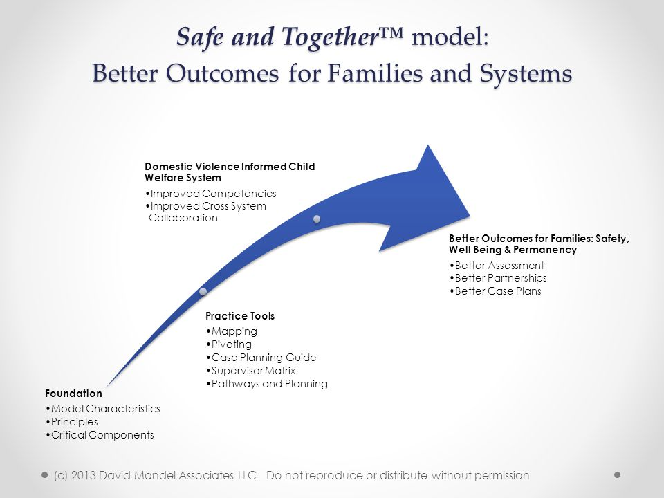 Safe and Together™ model: Better Outcomes for Families and Systems
