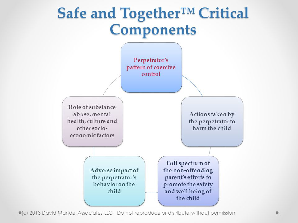 Safe and Together™ Critical Components