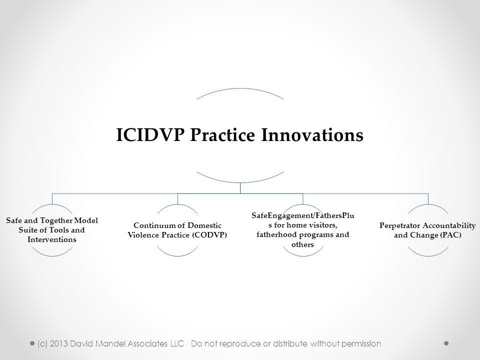 ICIDVP Practice Innovations