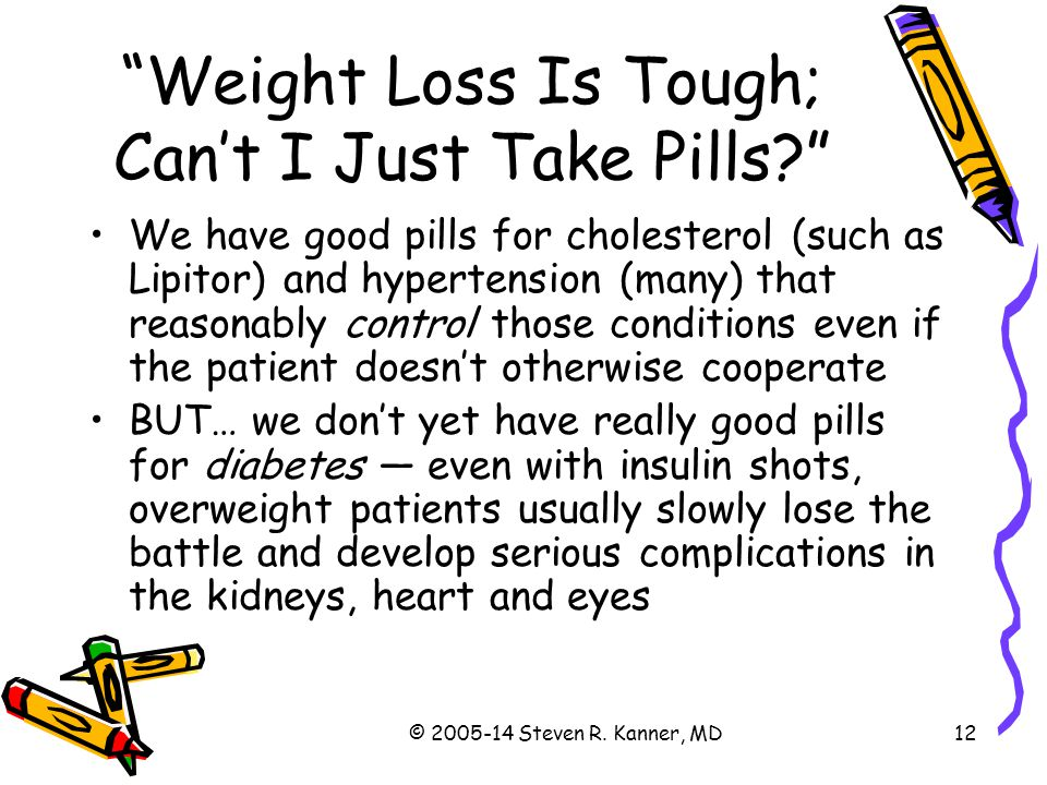 Weight Loss Is Tough; Can't I Just Take Pills