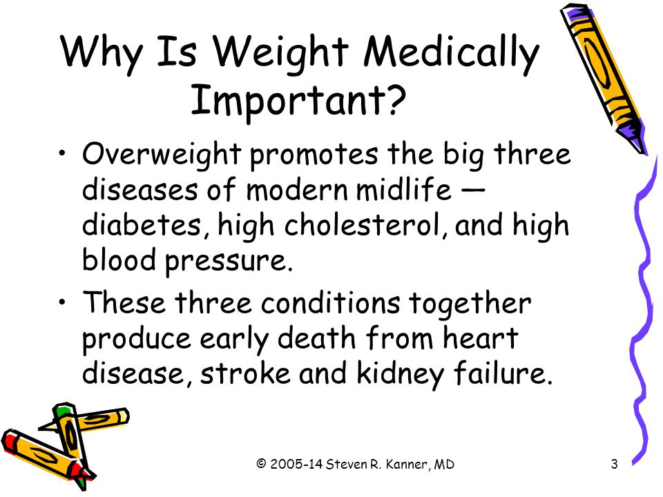 Why Is Weight Medically Important
