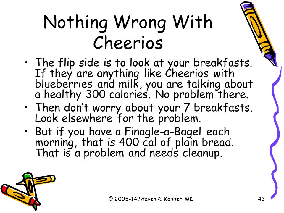Nothing Wrong With Cheerios