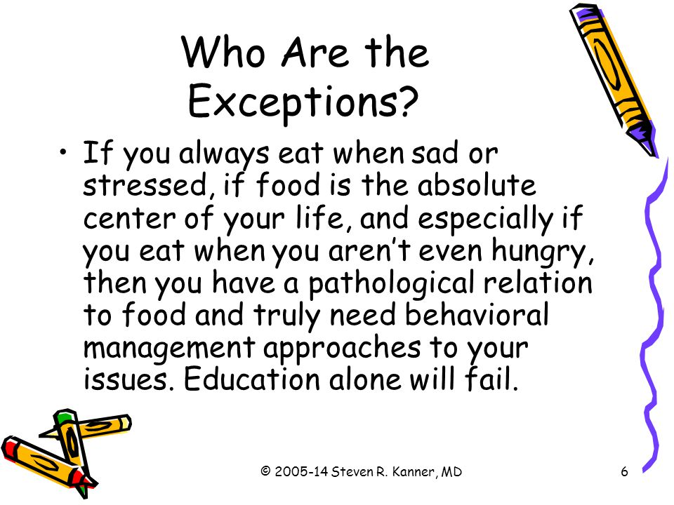 Who Are the Exceptions