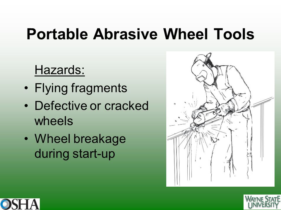 Portable Abrasive Wheel Tools