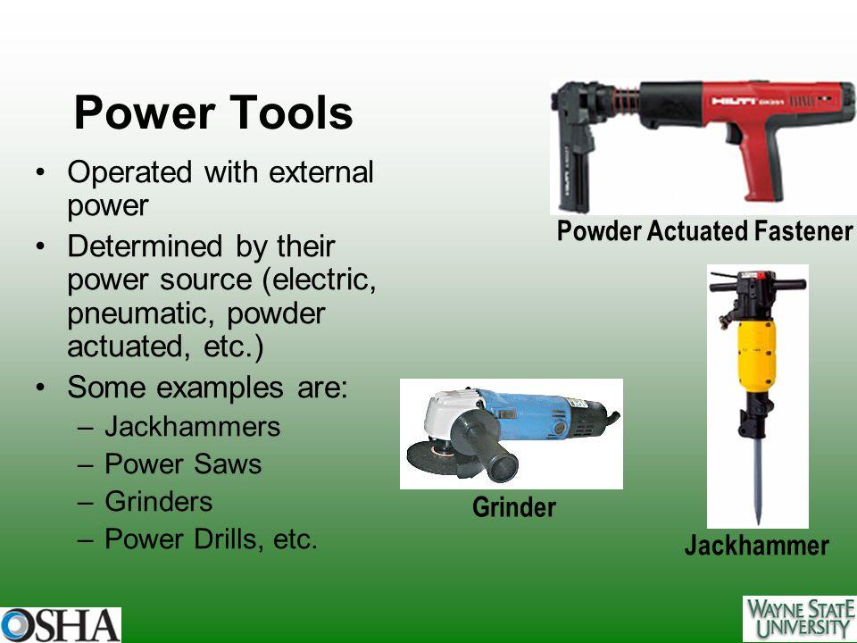Powder Actuated Fastener