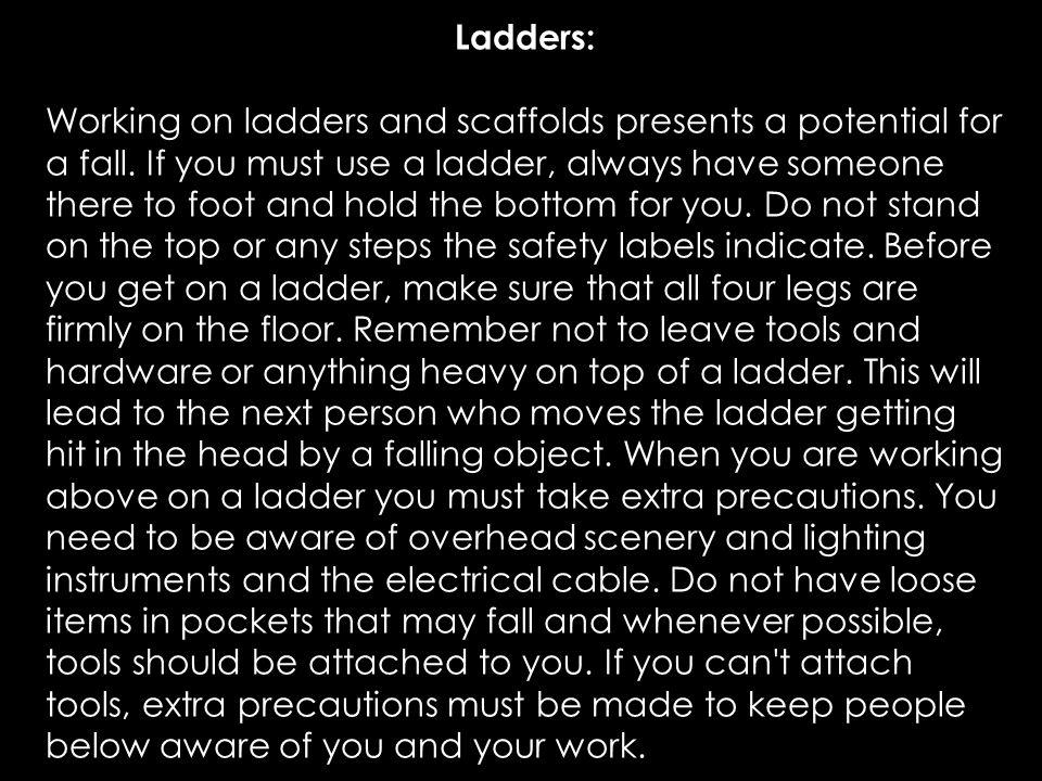 Ladders: