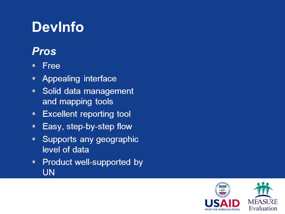 DevInfo Pros Free Appealing interface