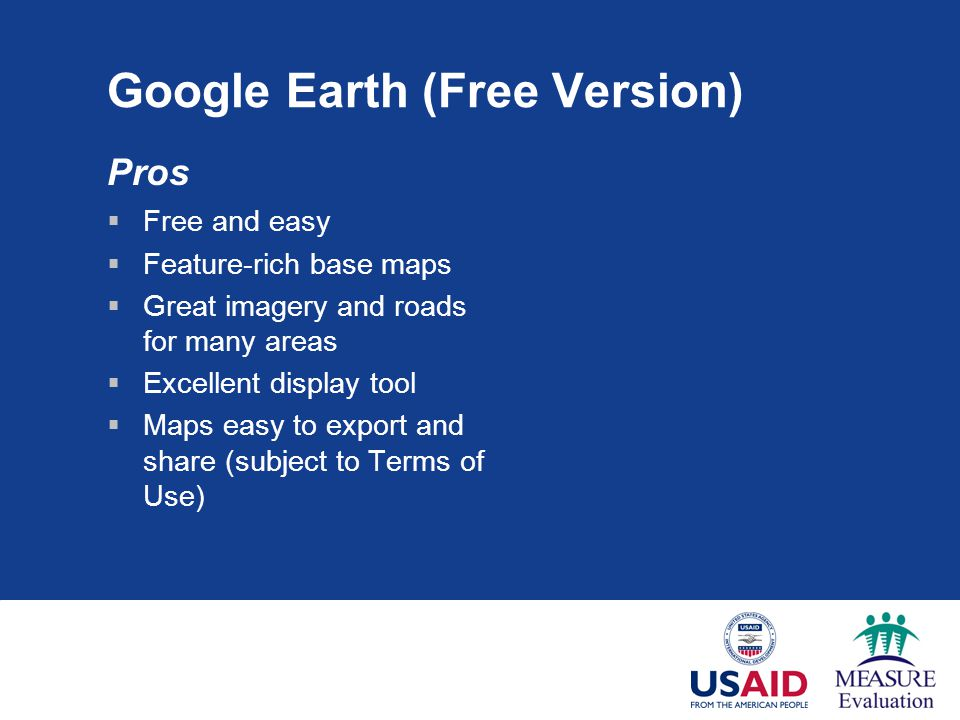 Google Earth (Free Version)