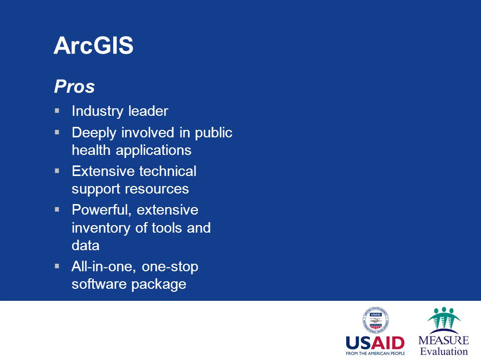 ArcGIS Pros Industry leader