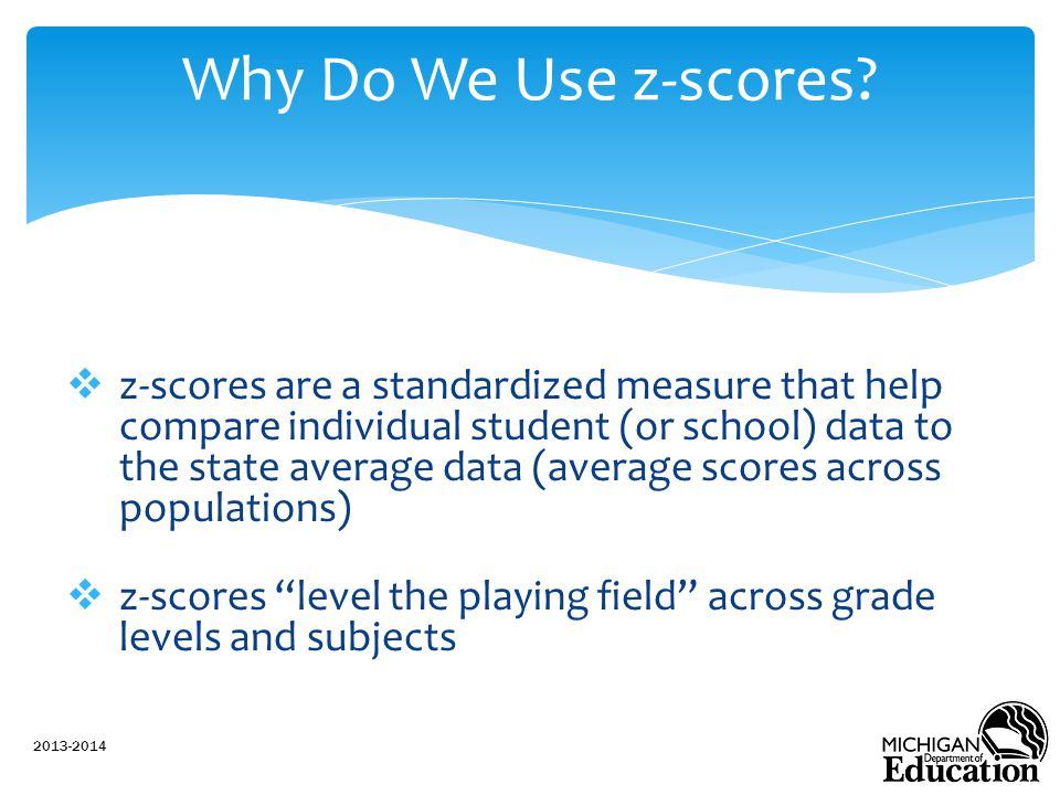 Why Do We Use z-scores