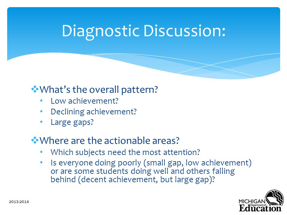 Diagnostic Discussion: