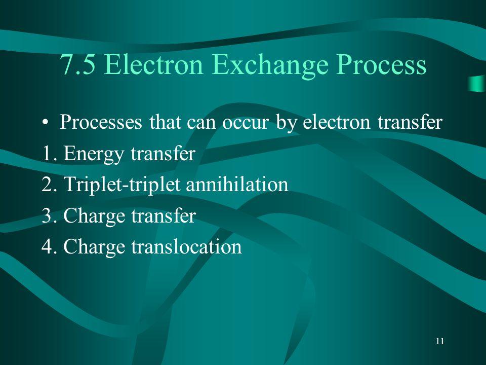 7.5 Electron Exchange Process