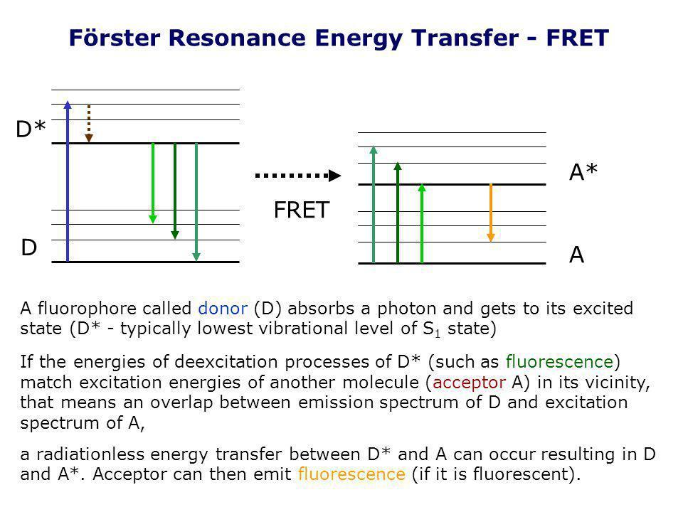 Förster Resonance Energy Transfer - FRET