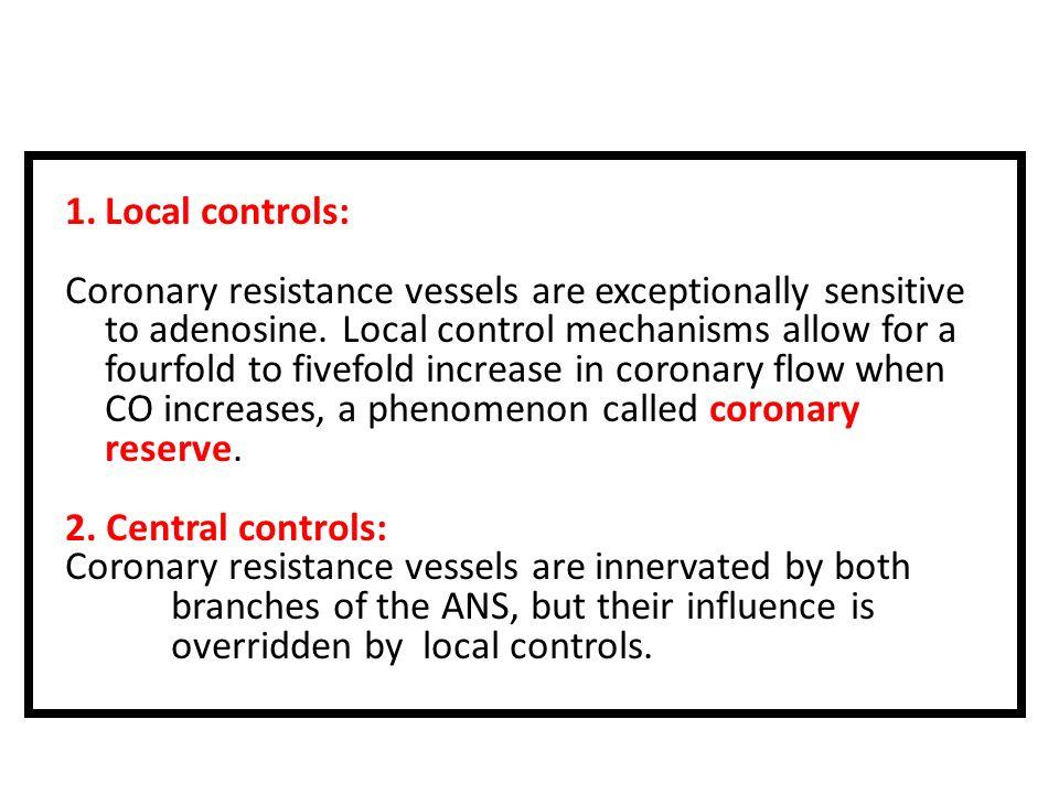 Local controls: