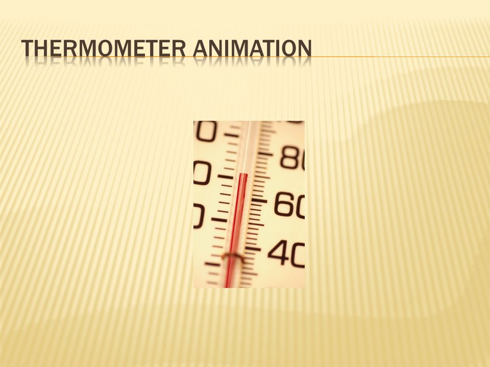 Thermometer Animation