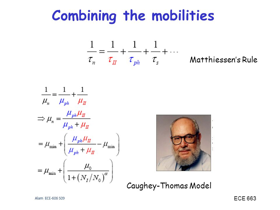 Combining the mobilities