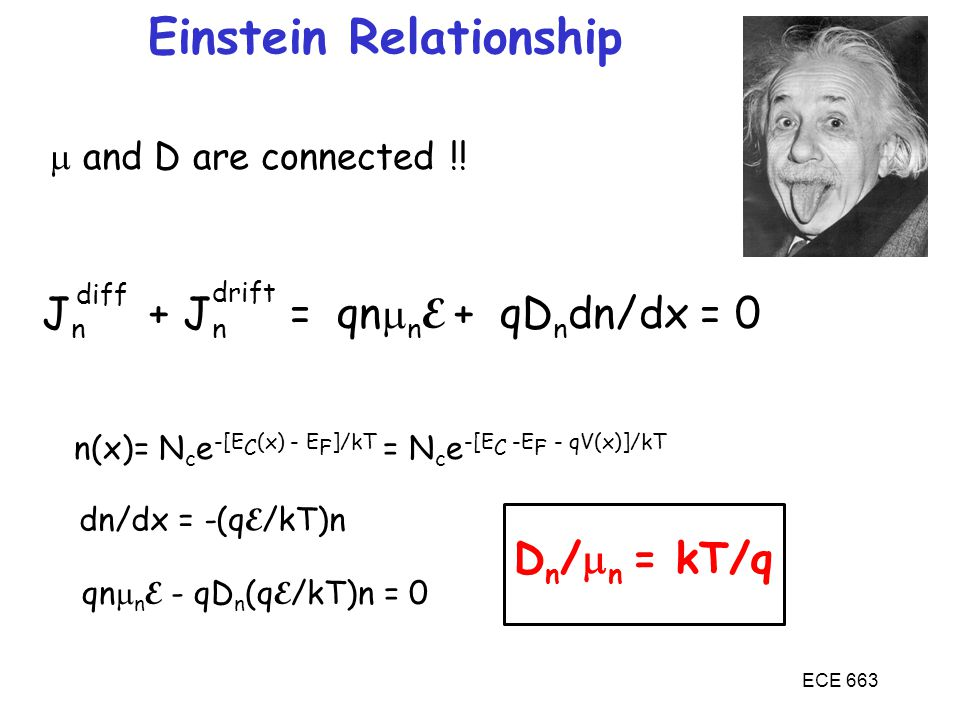 Einstein Relationship