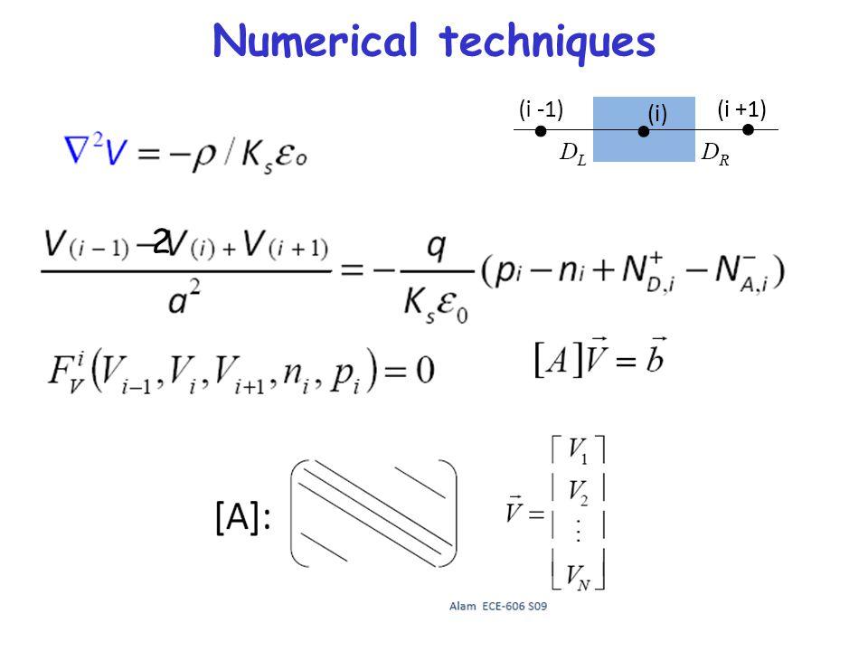 Numerical techniques 2