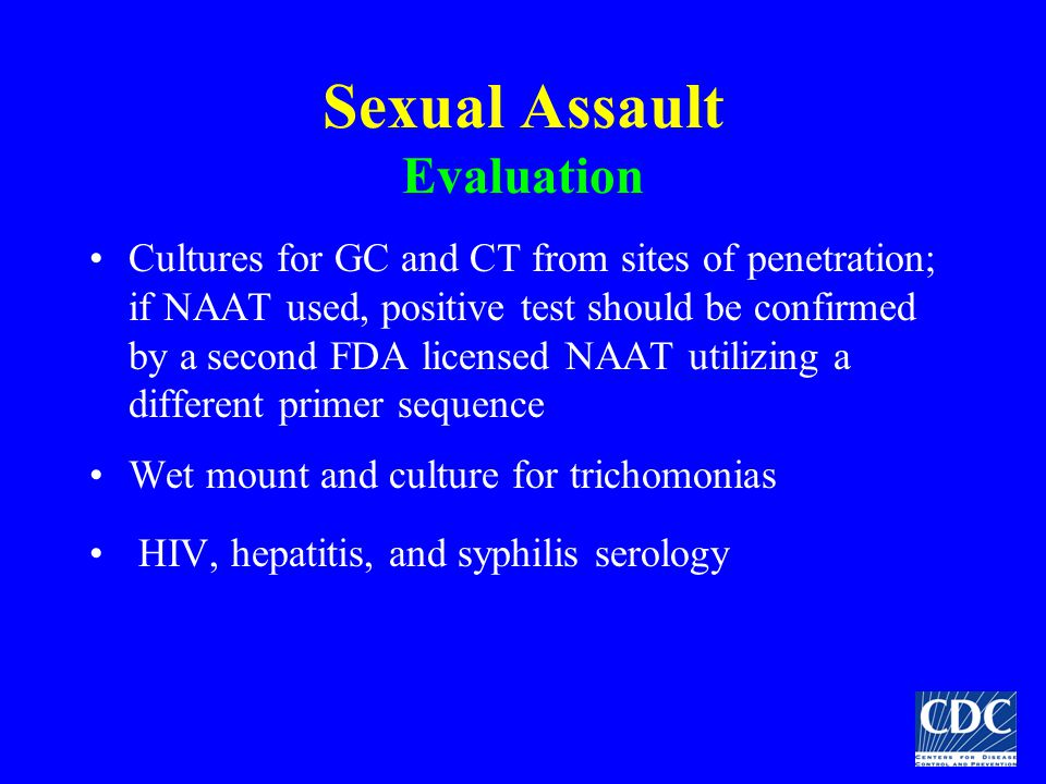 Sexual Assault Evaluation