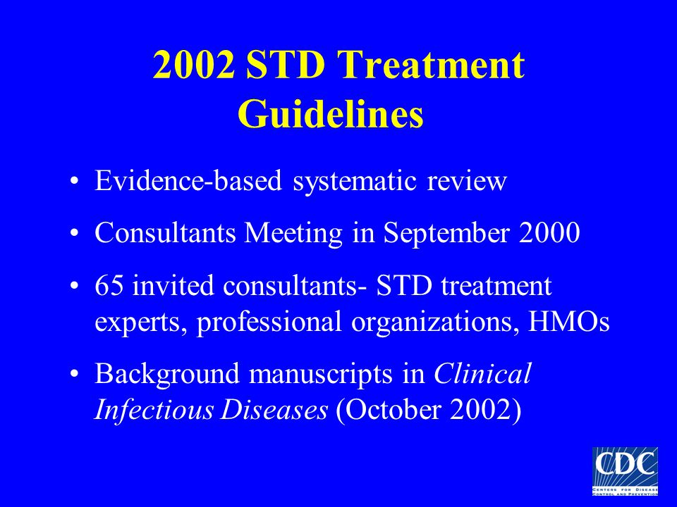 2002 STD Treatment Guidelines