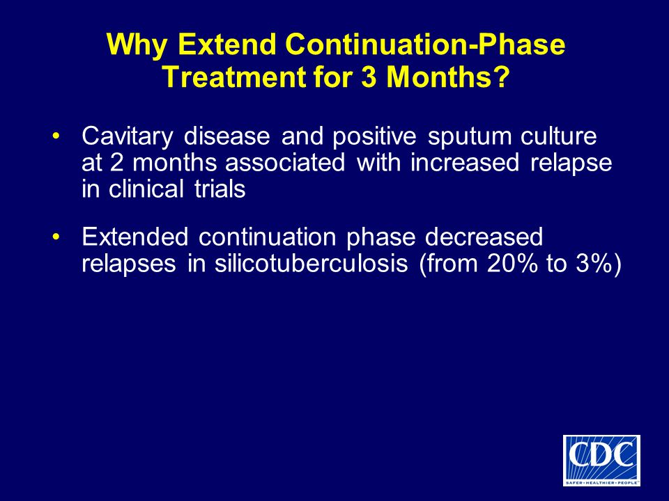 Why Extend Continuation-Phase Treatment for 3 Months