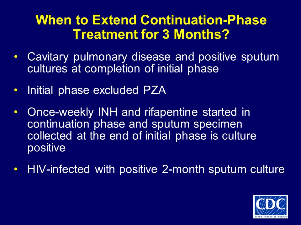 When to Extend Continuation-Phase Treatment for 3 Months