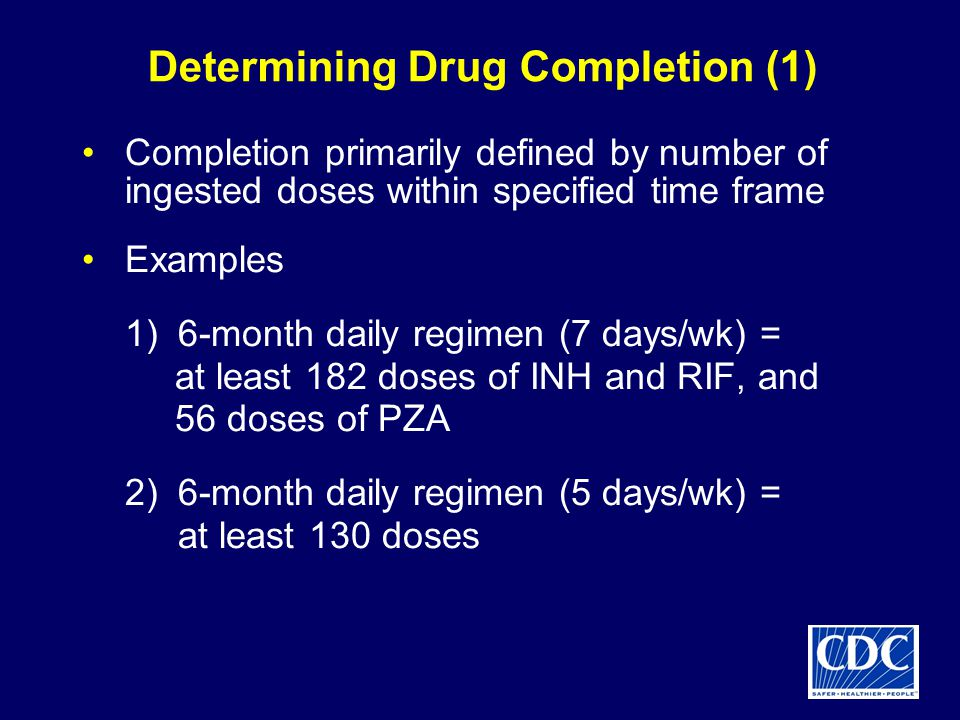 Determining Drug Completion (1)