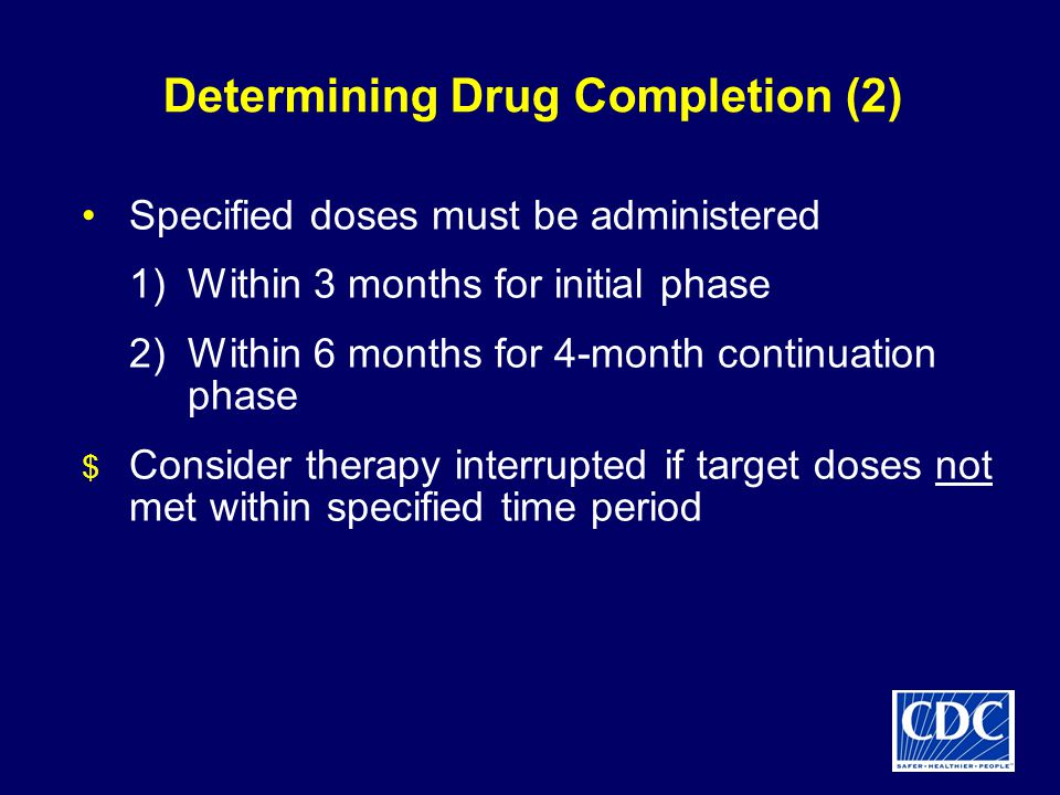 Determining Drug Completion (2)