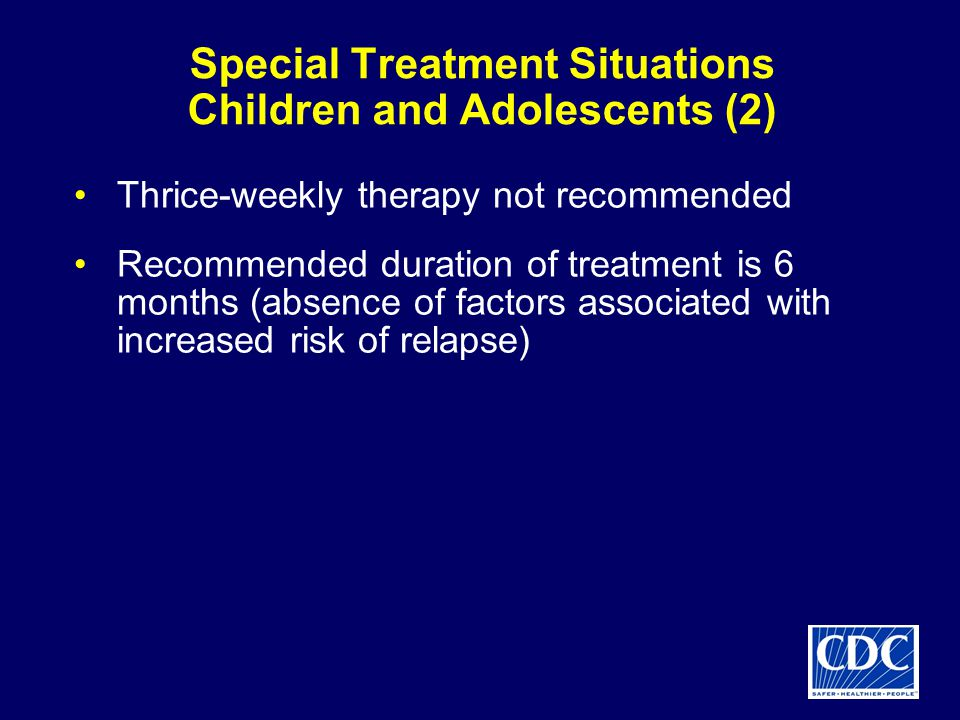 Special Treatment Situations Children and Adolescents (2)