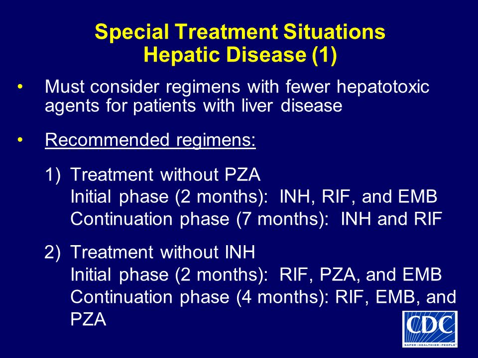 Special Treatment Situations Hepatic Disease (1)