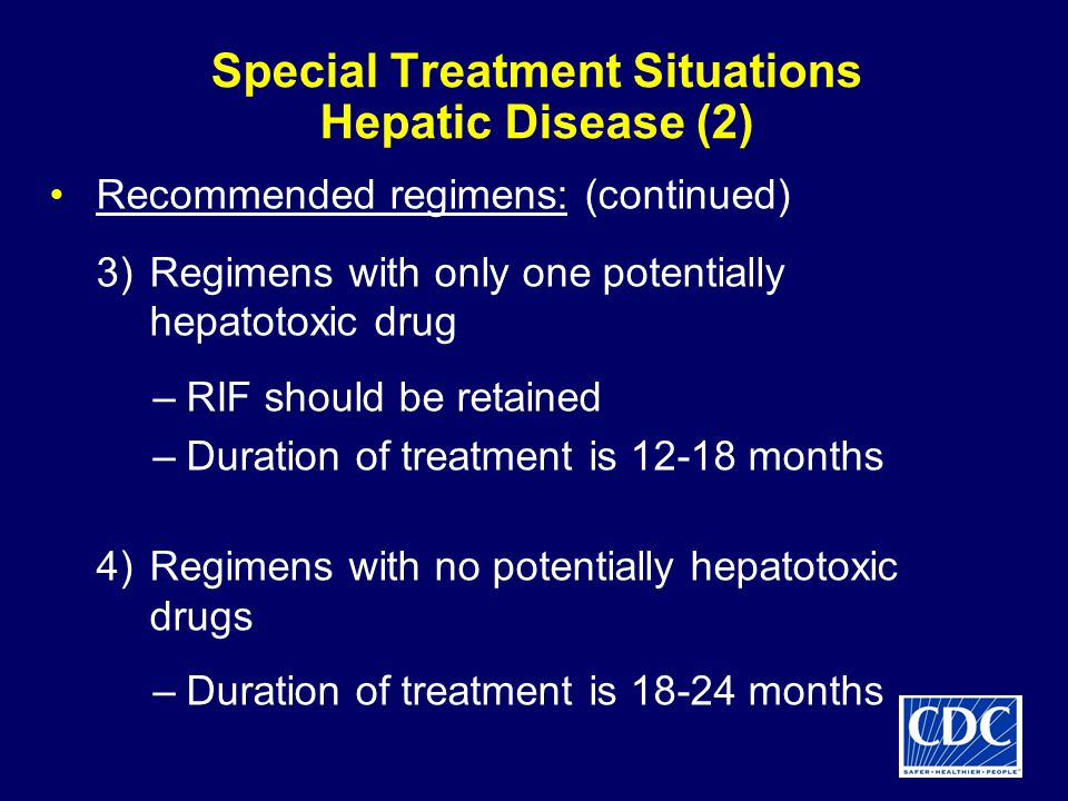 Special Treatment Situations Hepatic Disease (2)