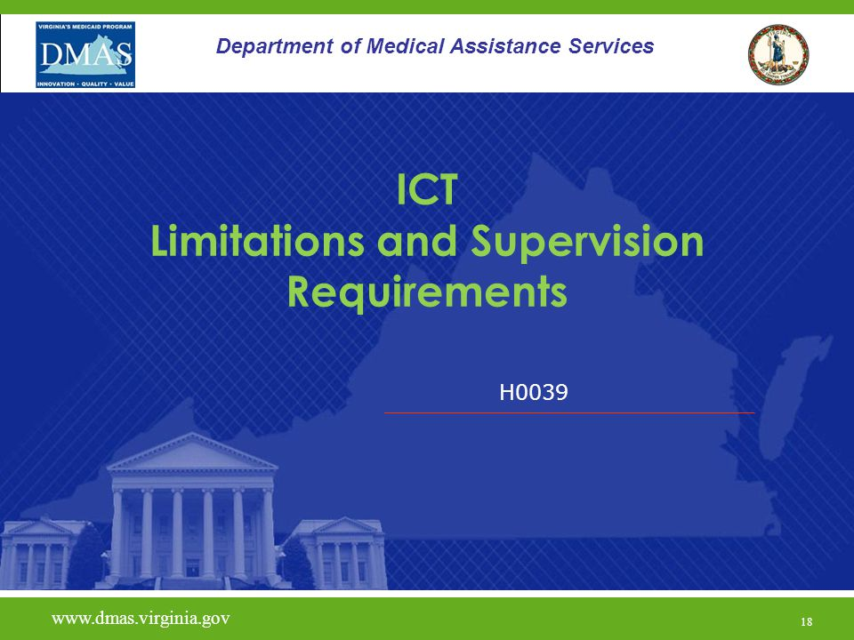 ICT Limitations and Supervision Requirements