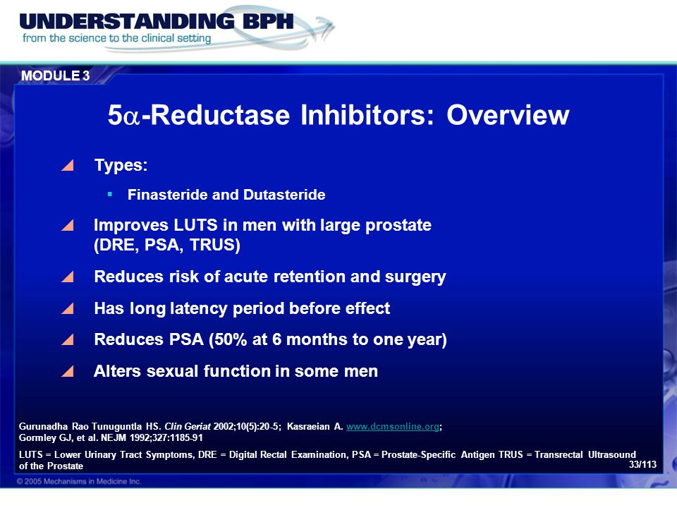 5-Reductase Inhibitors: Overview